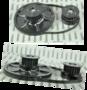 Sematic-aandrijf-pulley-set-incl.-tandriem-(DC03-30-002)-en-spanrol